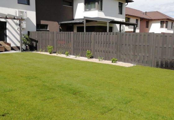 Családi ház kerttervezés és kertépítés