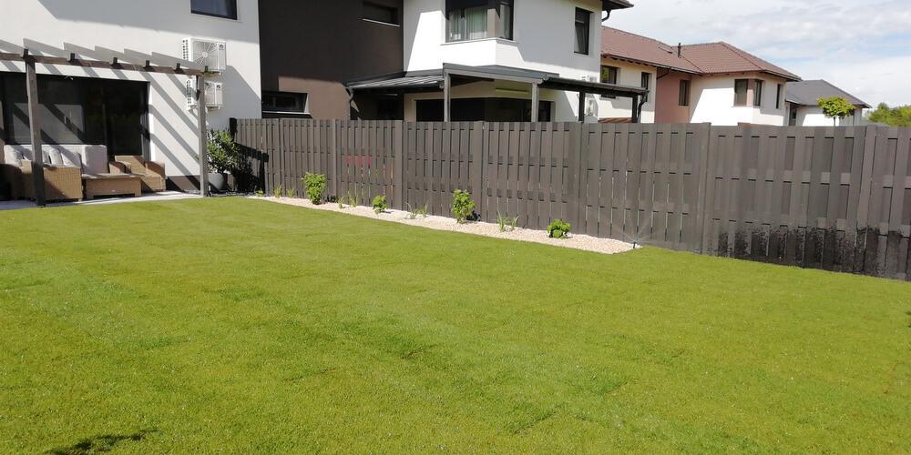 Családi ház kert2 2020